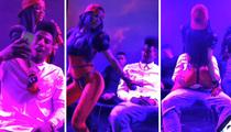 Iman Shumpert -- Erotic Lap Dance at Concert ... From Hot GF