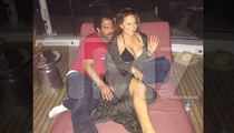 Mariah Carey Brett Ratner on The LOVE BOAT!!! (PHOTO)