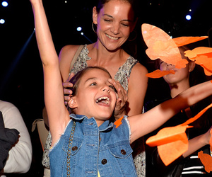 Katie Holmes Brings Suri to First Public Event In a Year -- See Kids' Choice…