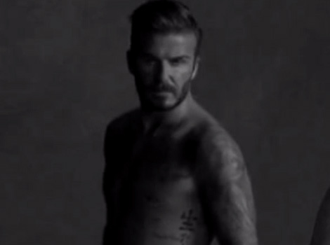 David Beckham & James Corden Hilariously Spoof Underwear Ads