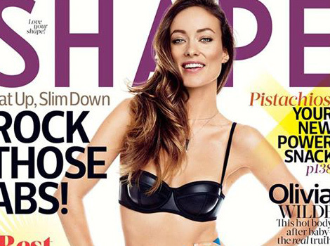 "Olivia Wilde Opens Up About Post-Baby Body: ""I'm A Mother, And I Look Like One!"""