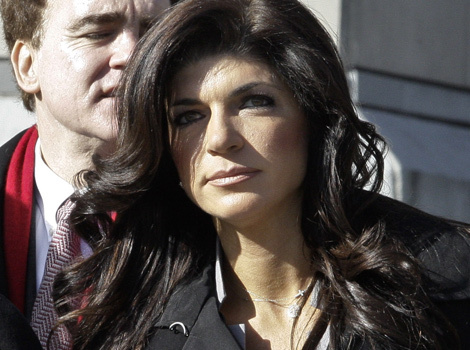 Whoa! See Teresa Giudice's Prison Transformation In First Photo Behind Bars