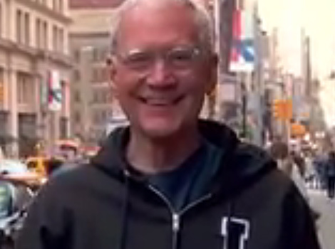 "David Letterman Tries to Find His Next Gig with ""Billy on the Street"""