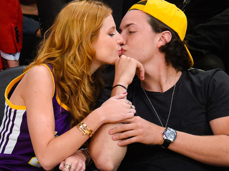 Bella Thorne Caught Kissing Another Celeb Kid -- Where's Pam Anderson's Son?!