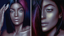 Kylie Jenner -- Does A Black About Face (PHOTOS)
