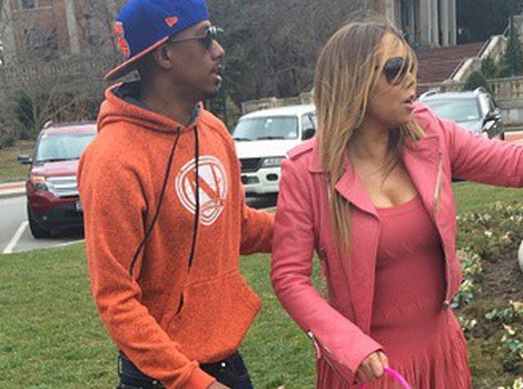 Mariah Carey & Nick Cannon Reunite For Easter With Their Twins!