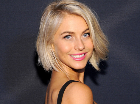 Julianne Hough Debuts Pink 'Do -- See Her Bright New Look!