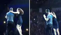 Adam Levine -- When Female Fans Attack ... Beware Sharp Fingernails (VIDEO)