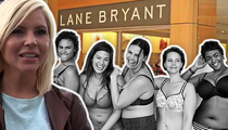 Lane Bryant Models -- Magic Box Campaign Targets Victoria's Secret Angels (TMZ TV)