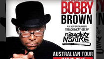 Bobby Brown Going Back on Tour, But Not By Choice