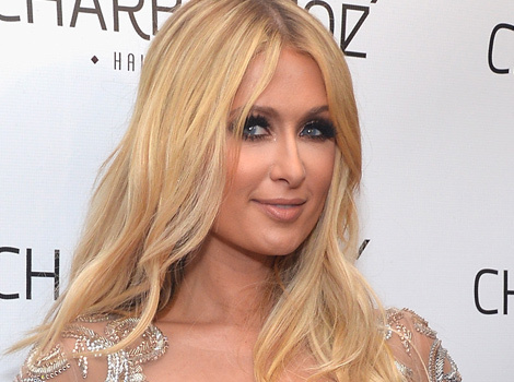 Paris Hilton Bares Her Booty in See-Through Dress