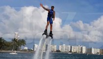 Odell Beckham Jr. -- I Believe I Can Fly ... On Water!!