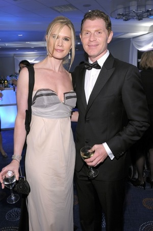 Bobby Flay & Stephanie March -- Before the Split!