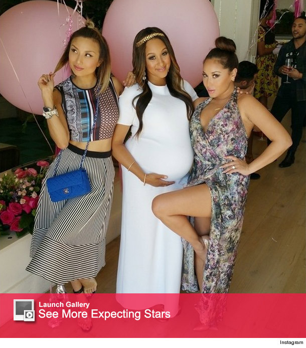 Tamera Mowry Housley Celebrates Baby Shower With Celeb Pals Toofab