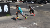 Odell Beckham Jr. -- BLOWS DIDDY AWAY ... In Street Footrace