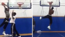 Metta World Peace -- My 15-Year-Old Can Dunk!!!