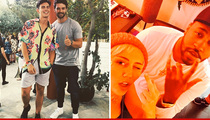 Patrick Schwarzenegger Goes Solo to Coachella ... Miley Miles Away (PHOTOS)