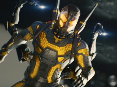 """New """"Ant-Man"""" Trailer Gives Us First Glimpse at Yellowjacket In Action"""