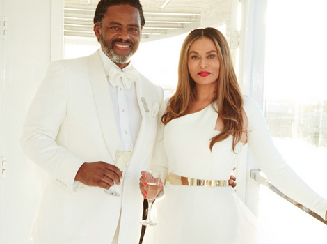 Beyonce's Mom Tina Knowles Ties The Knot With Richard Lawson -- See Her Dress!