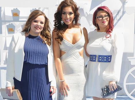 """Teen Mom OG"" Stars Pose For Rare Pic Together at MTV Movie Awards"