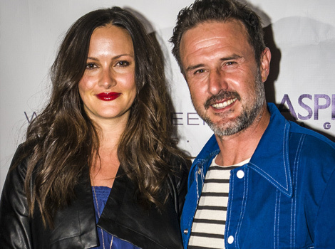 David Arquette Marries Baby Mama Christina McLarty