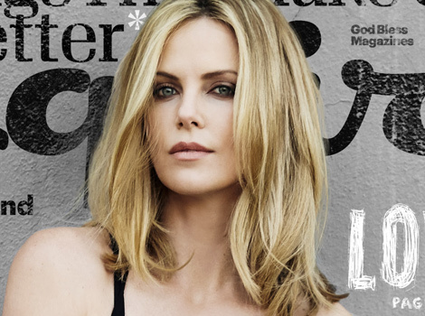 "Charlize Theron Raves About Boyfriend Sean Penn: ""I'm a Very Lucky Girl ... He's Hot"""