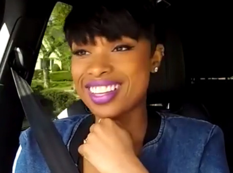 "Jennifer Hudson Does ""Carpool Karaoke"" James Corden at Fast Food Drive-Thru"