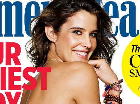 Cobie Smulders Goes Topless, Flaunts Amazing Post-Baby Bod for Women's Health