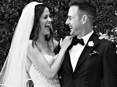 Just Married! See David Arquette & Wife Christina McLarty's Wedding Portrait