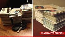 Coachella Crackdown -- Hundreds of Fake IDs Seized