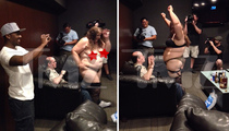Ray J -- Big Pimpin' ... Orders Super-Sized Stripper For Hollywood Hillbilly