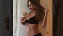 Model Sarah Stage -- Super Skinny Pregnancy Leads to Big Baby!