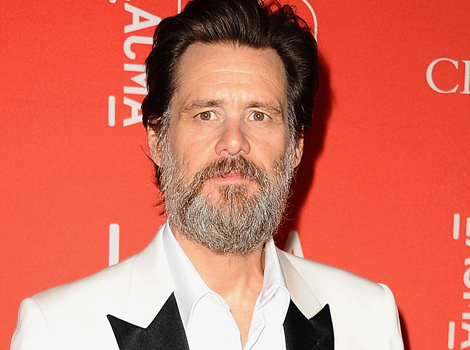 Jim Carrey Sports Beard At LACMA's 50th Anniversary Gala -- Like The Look?!