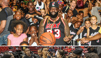 Rick Ross -- Outcoached For Good Cause ... Loses Charity Hoops Game To Ex-NFL Star