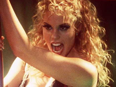 """Elizabeth Berkley Reflects on """"Authentic"""" Moment In """"Showgirls"""" 20 Years Later"""