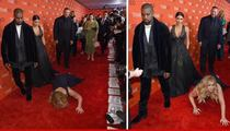 Kanye West & Kim Kardashian -- Not Funny, Amy Schumer ... Get Off Our Red Carpet!