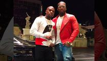 50 Cent -- Buries Hatchet With Mayweather ... 'He's My Brother'