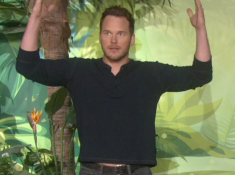 Chris Pratt Challenges Apparently Kid Noah Ritter to Dinosaur Trivia, Gets…