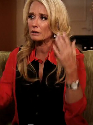 """Kim Richards Breaks Down, Storms Out of """"Dr. Phil"""" Set In New Promo"""