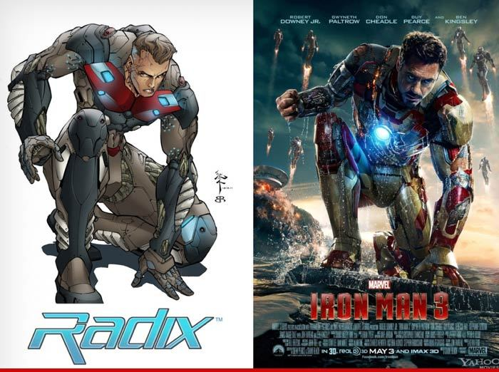 'Iron Man' -- One Good Suit Deserves Another | TMZ.com