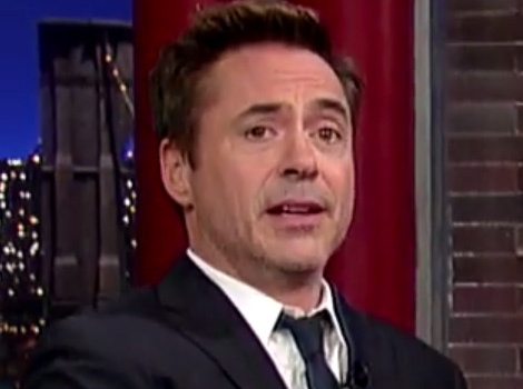 "Robert Downey Jr. Shares First Pic Of Daughter Avri On ""The Late Show"""