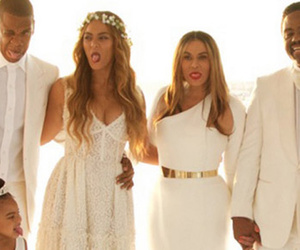 Beyonce Shares a TON of Photos from Mom Tina's Wedding -- Blue Ivy Looked…