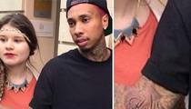 Tyga -- Kylie Jenner Is the One ... Here's the Ink to Prove It