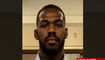 Jon Jones -- SUSPENDED BY UFC ... Jones Apologizes