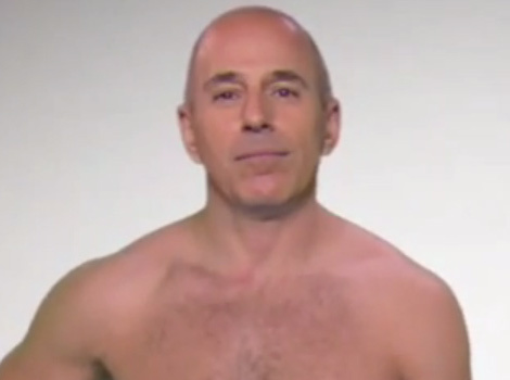 "Ellen DeGeneres & Matt Lauer Call A ""Truce"" On Prank War -- Before He Strips Down!"