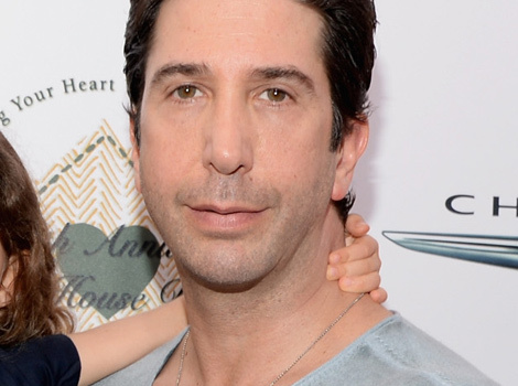 David Schwimmer Makes Rare Appearance With Daughter Cleo -- See His Little…