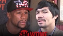 Mayweather vs. Pacquiao -- No Free Rides! Showtime Guns for Internet Pirates