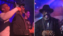 Isaiah Washington -- Raging in Gay Bar to Get the Word Out On New Film