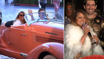 Mariah Carey -- Flaunts Truckloads of Hits & Her Ass For Giant Las Vegas Welcome (VIDEO)