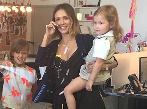 See How Jessica Alba's Family Made Her Cry on Her Birthday